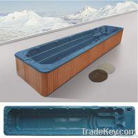Large Whirlpool Swim SPA Hot Tub Hydro Massage Bathtub