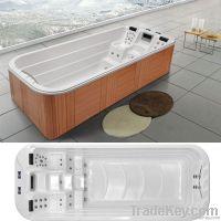US Arcylic Swimming SPA Whirlpool Bath Tub with 49pcs of 304 SS Massag