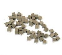 Tungsten alloys cubes