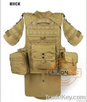 Ballistic Vest with Pouches Bulletproof Vest ISO standard NIJ