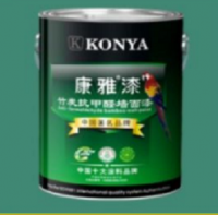 Bamboo-charcoal anti-formaldehyde wall paint