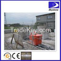 Diamond wires saw machine for concrete cutting