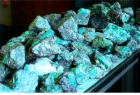 660 lbs of un-cut Emeralds = 1.496 Million Carats