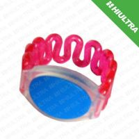 rfid swimming pool bracelet with logo