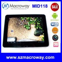 """Macroway MID 9.7"""" tablet pc with retina screen"""