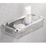Stainless steel basket for bathroom