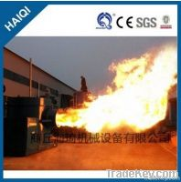 Industrial full automatic biomass sawdust burner