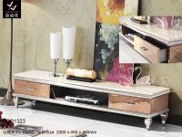 Modern Stainless Steel TV Stand