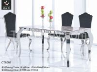 2014 Modern Stainless Steel Dining Table [CT1020]