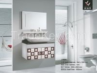 Stainless Steel Bathroom Cabinet [J-8605]