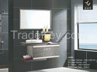 Modern Stainless Steel Bathroom Vanity [J-8618]