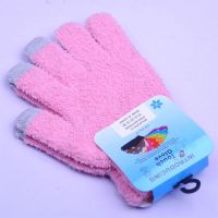 knitting mobile touch gloves