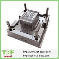 Plastic injection mould for kitchen crate