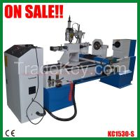 CNC wood lathe machine with max. working length 1500mm KC1530-S