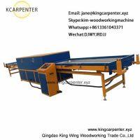 Vacuum membrane pvc wood veneer press machine