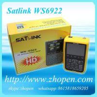 dvb-s2 hd satellite finder satlink ws6922 digital satellite finder meter ws 6922