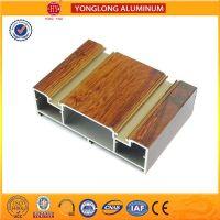 High Quality Wood Finished Aluminum Profile for Sliding Windows