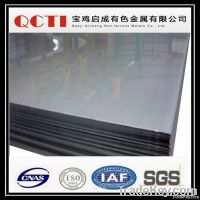 Gr1 ASTM B265 titanium sheet