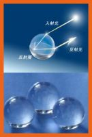 High Refractive Index Glass Beads for Road Marking Paint, Road Board, Road Sigh, Clothes & Bags