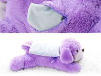 Lavender Plush Dog