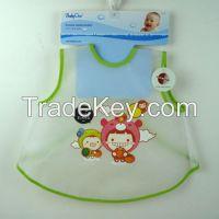 custom print waterproof plastic baby bib