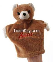 Hot sales! custom bear finger puppet