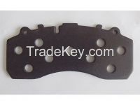backplate / back plate / backing plate for disc brake pads