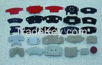 shims for brake pad, anti-noise/noise-absorbing, anti-viberation/anti-shock