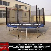 Safety Net trampolines