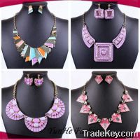 2014 exaggerated necklace, European and American exaggerated necklace