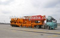 Mobile impact crusher, Mobile jaw crusher, Mobile cone crusher