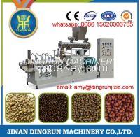 big capacity wet type fish feed pellet production machine