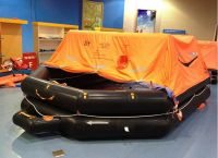 EC Approved Throw-over Board Inflatable Life Raft