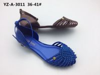 Newest Women's Jelly Sandals with shine