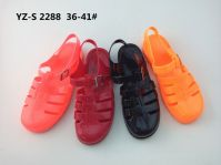 Classical Ladies' PVC Jelly Bean Sandals