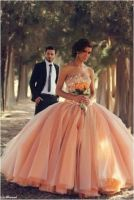 2014 wedding dress Sexy Sweetheart Beads Crystals Tulle Ball Gown Bridal Gowns Babyonlinedress.com