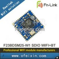 F23BDSM25-W1 WIFI+Bluetooth Module SDIO 2.4 150M RTL8723BS