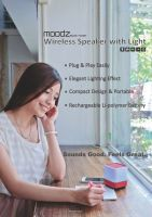 Wireless Speaker with Light