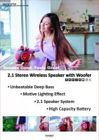 Wireless Bluetooth Speaker with Woofer