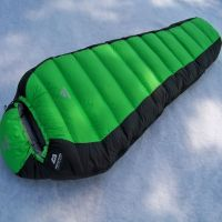 Waterproof fabric 90% washed duck down filling sleeping bags for cold season