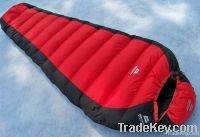 New and fashion down sleeping bag for camping