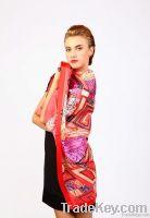 Fashion silk scarf for hair