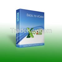 DRPU Excel to vCard Converter Software