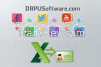 DRPU Excel to VCF Converter for Sharing Contacts of Excel File