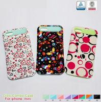 Water Printing Cute Phone Cover for Apple Samsung Sony LG