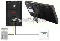 Wholesale 7 inch TFT LCD Color Wireless Video Door Phone Intercom Syst