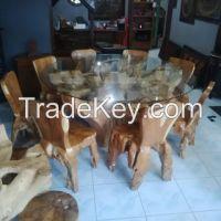 Teak wood furniture sets