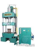 Press machine for friction material