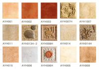Printed archaize ceramic tile