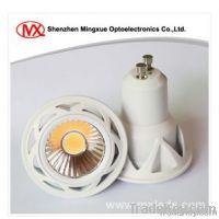 7W GU10 dimmable 90Ra COB spotlight lamp
